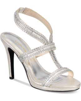 Givenchy Strappy Platform Evening Sandals