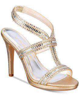 Givenchy Strappy Platform Evening Sandals