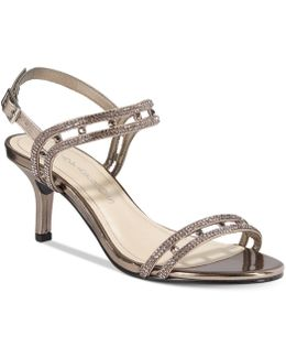 Happy Embellished Strappy Evening Sandals