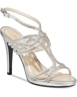 Heather Embellished Strappy Evening Sandals