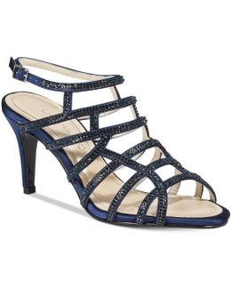 Harmonica Caged Evening Sandals