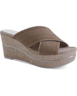 Dani Slide Wedge Sandals