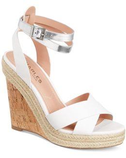 Brit Platform Wedge Sandals