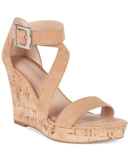 Leanna Platform Wedge Sandals