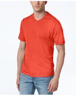 Men's Kahuna Garment-dyed Cotton V-neck T-shirt
