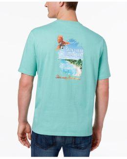 Men's Graphic Print Cotton T-shirt