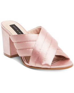 Women's Zada Slide-on Block-heel Sandals