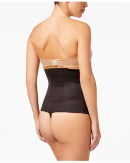 Extra-firm Control Inches Off Waist Cinching Thong