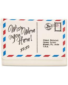 Postcard Printed Wallet