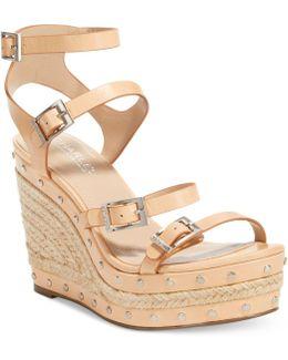Larissa Strappy Platform Wedge Sandals