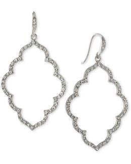 Icing On The Cake Moroccan Trellis Drop Earrings