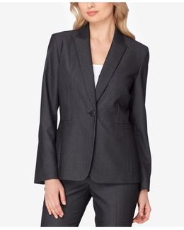 Peak-collar Blazer