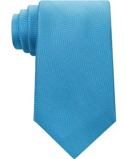 Men's Tonal Chevron Tie