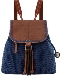 Avalon Medium Crochet Backpack
