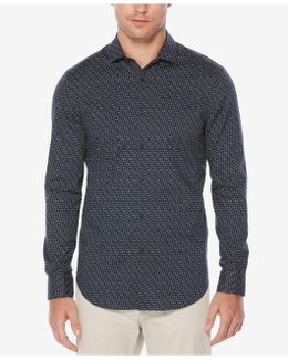 Men's Geometric Print Shirt
