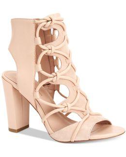 Faye Peep-toe Sandals