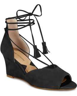 Marcey Lace-up Wedges