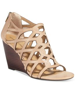 Alby Strappy Wedge Sandals