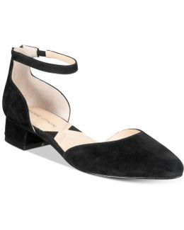 Soto Ankle-strap Flats