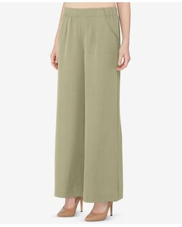 Pull-on Wide-leg Pants