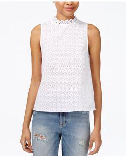 Cotton Crochet Lace Top