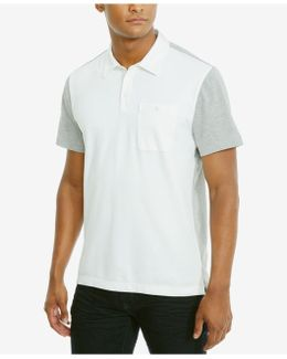 Men's Colorblocked Stretch Polo