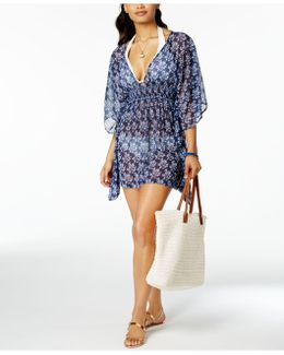 Vine About It Open-back Tunic Cover-up