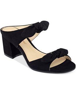 Eria Block-heel Slide Sandals