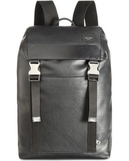Men's Mason Leather Army Backpack