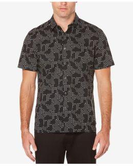 Men's Big & Tall Digital Camo Cotton Shirt