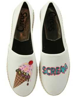 "Leni ""i Scream"" Espadrille Flats"