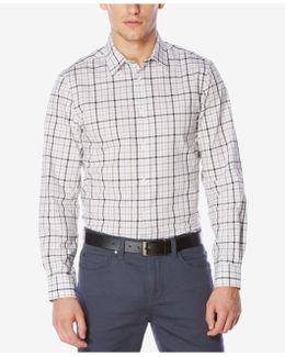 Men's Classic-fit Tattersall Cotton Shirt