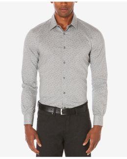 Men's Neat Paisley Cotton Shirt