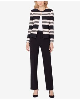 Striped Pantsuit