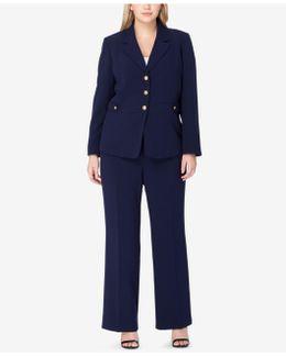 Three-button Pantsuit
