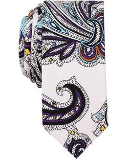 Men's Arturo Paisley Slim Tie