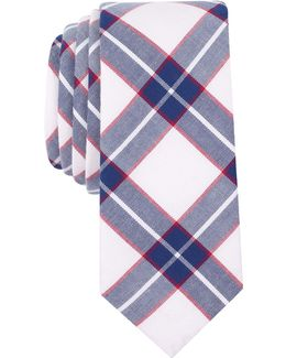 Men's Barlow Check Slim Tie