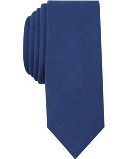 Men's Cameo Solid Slim Tie