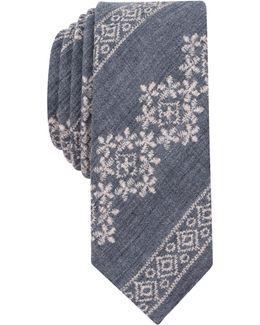 Men's Cutler Print Skinny Tie
