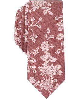 Men's Jerez Floral Slim Tie