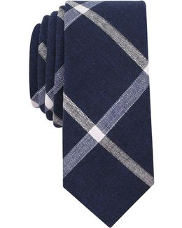 Men's Lockwood Check Slim Tie
