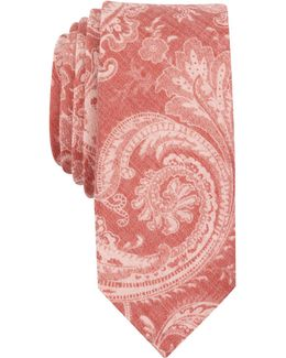 Men's Merse Paisley Slim Tie