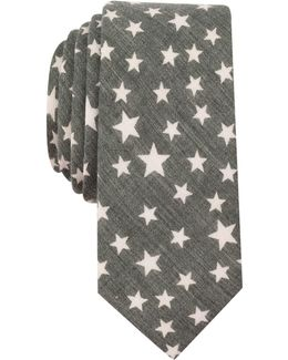 Men's Palmer Star Neat Slim Tie
