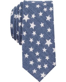 Men's Palmer Star Neat Slim Tie