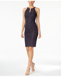 Glitter Sheath Dress