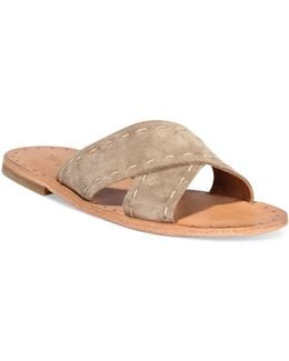 Women's Avery Pickstitch Slide Sandals