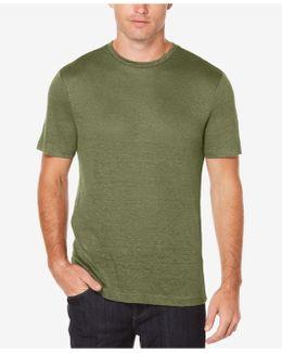Big & Tall Solid Linen Short-sleeve Tee