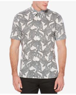Men's Exploded Paisley Shirt