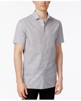 Men's Mixed-media Shirt