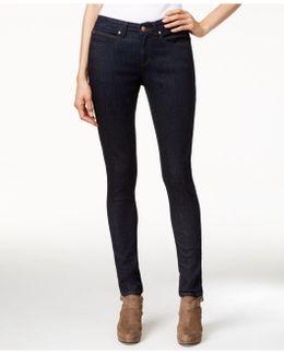 Low-rise Skinny Jeans, Black Wash